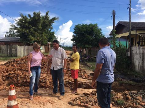 PREFEITURA DE TARAUACÁ INICIA CONSTRUÇÃO DE REDE DE GALERIAS PLUVIAIS NA RUA BENJAMIN CONSTANT
