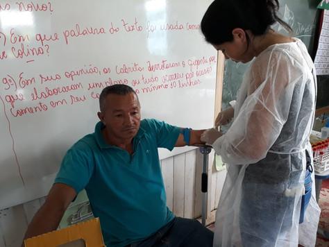 SECRETARIA DE SAÚDE REALIZA ATENDIMENTO NA ZONA RURAL DO MUNICÍPIO DE TARAUACÁ