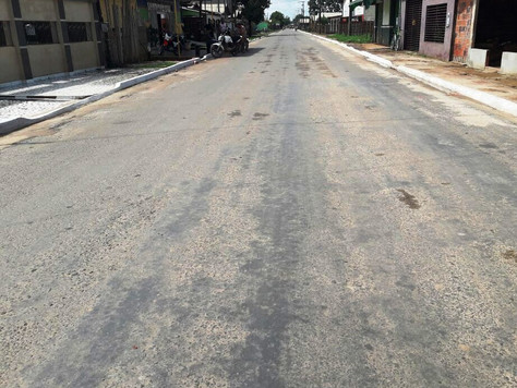 PREFEITURA DE TARAUACÁ ENTRA NA ETAPA FINAL DA CONCLUSÃO DA OBRA DA RUA CAPITÃO HIPÓLITO