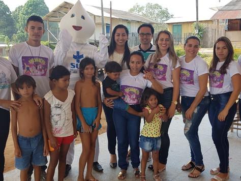 SECRETARIA DE SAÚDE REALIZA 'BUSCA ATIVA' PARA AMPLIAR VACINAÇÃO CONTRA SARAMPO E PÓLIO NA CIDADE DE