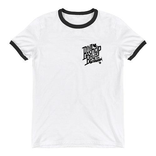 Bishop Boys (#003) - White Ringer T-Shirt