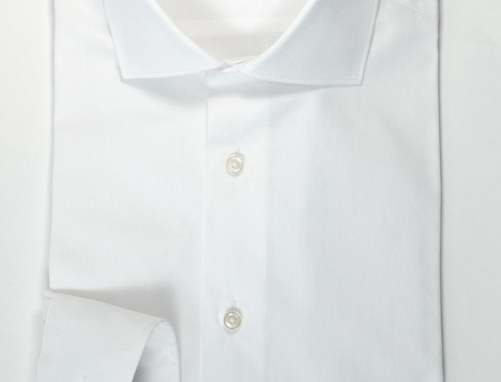 Camicia Custom collo francese Bianco