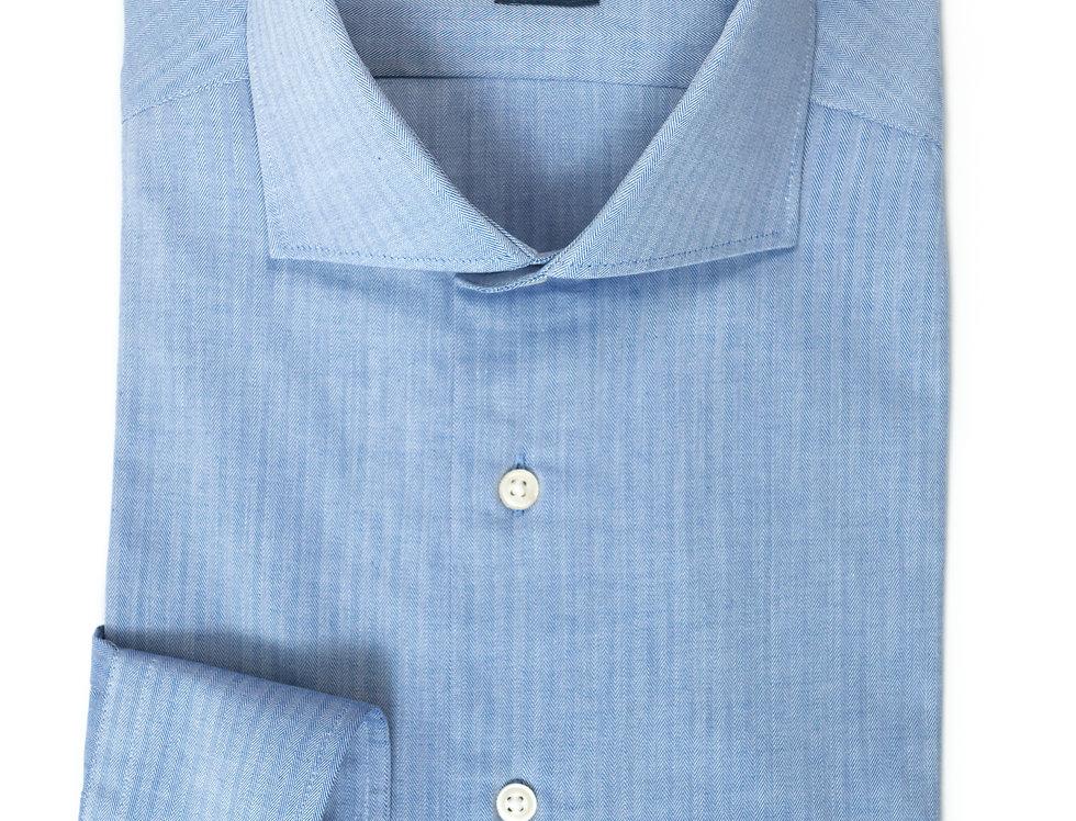 Camicia Custom Resca Blu medio