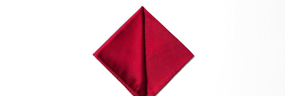 Pochette raso rosso