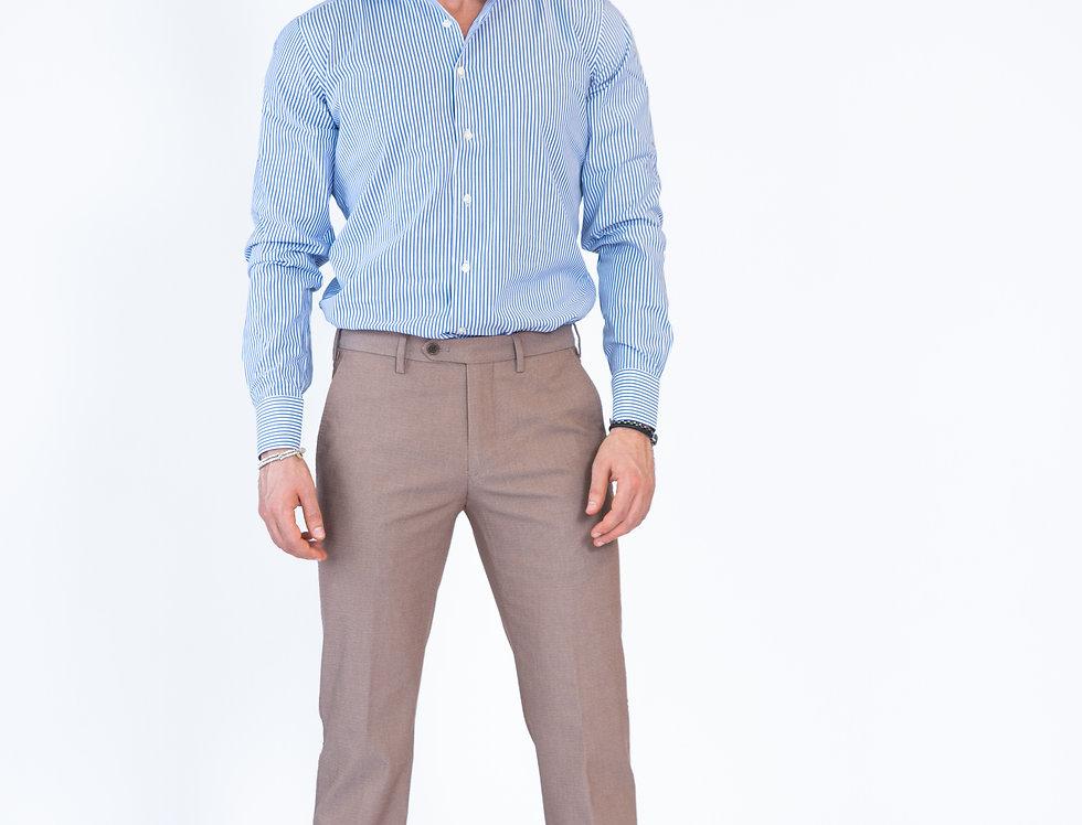 Pantalone informale vestibilita regular marrone