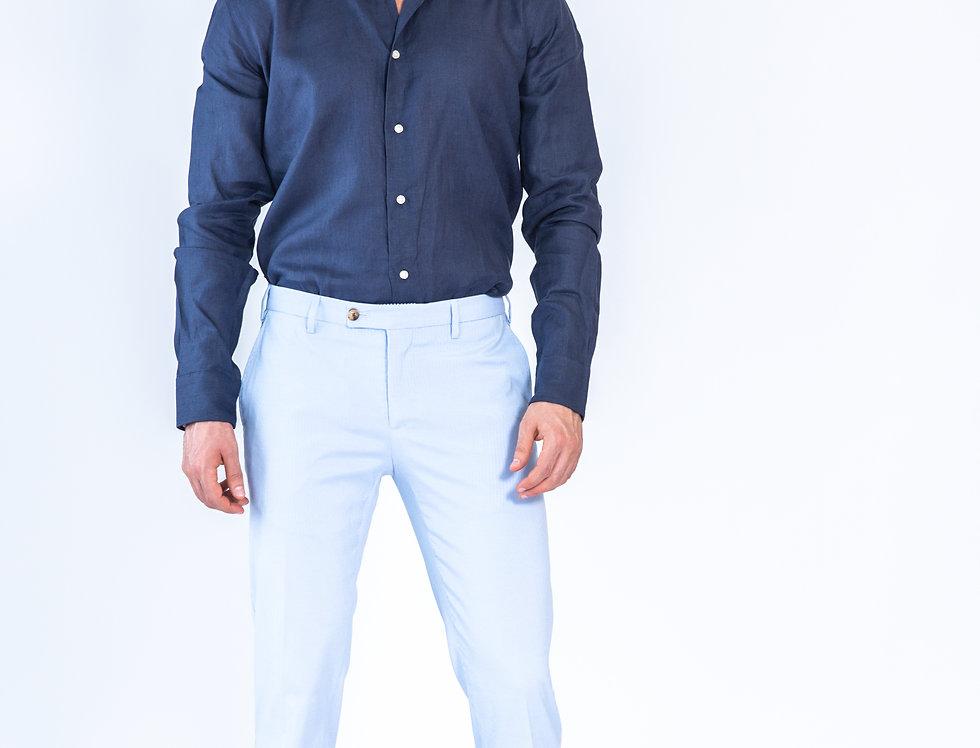 Pantalone informale vestibilita' slim Grigio chiaro