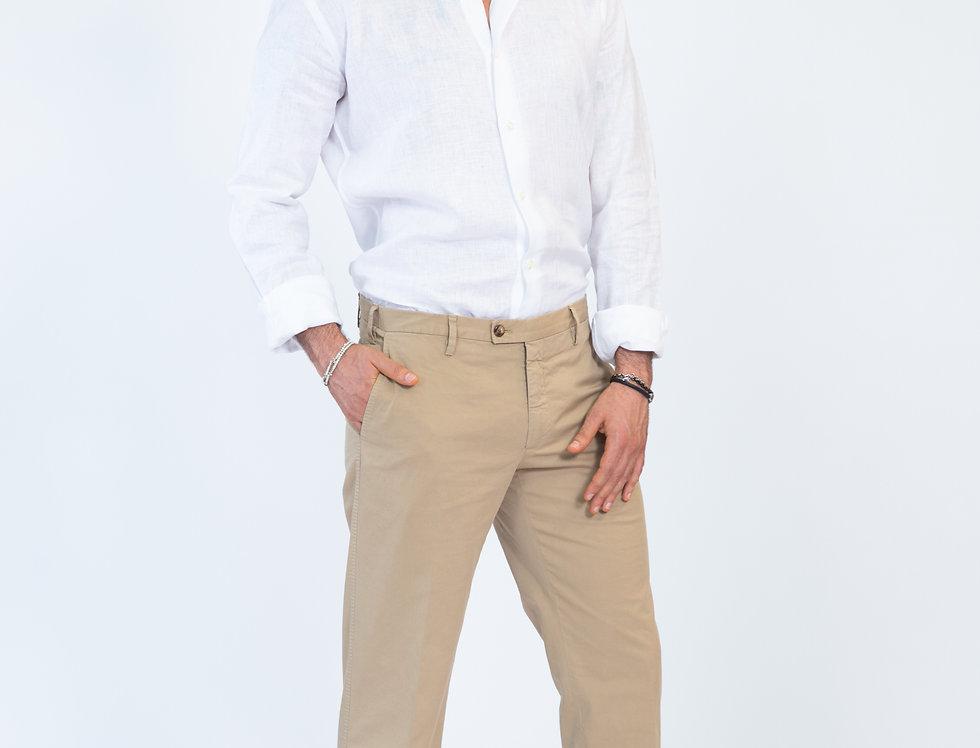 Chino vestibilita' regular beige