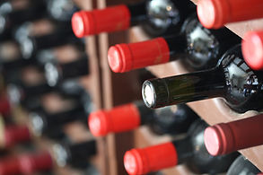 built in wine cellar