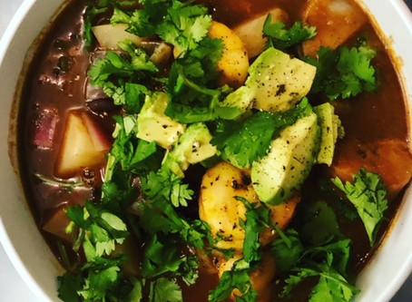 Weight Watchers Friendly Vegan Black Bean Soup