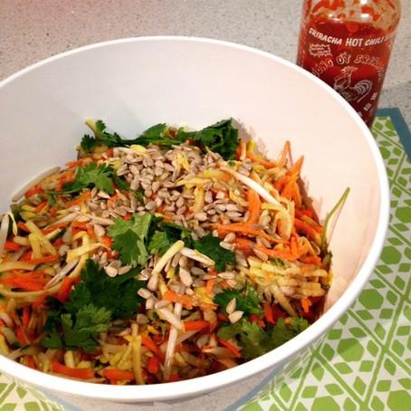 The Raw Vegan Pad Thai Salad Cleanse