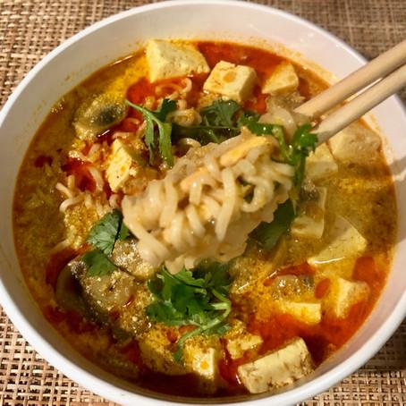 Vegan Coconut Curry Ramen