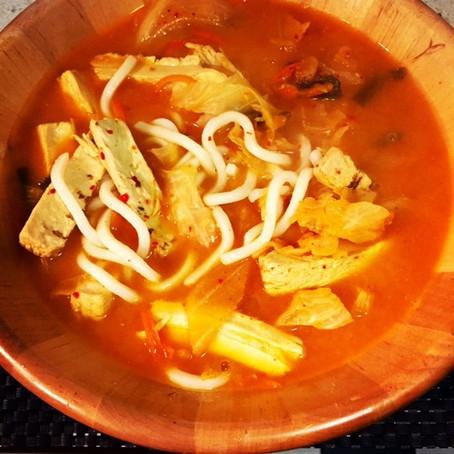 Red Hot Kimchi Udon
