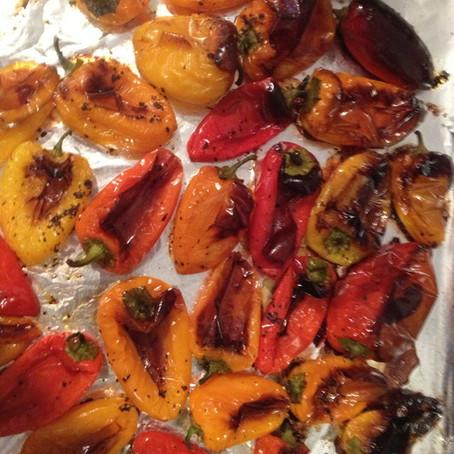 Roasted Mini Peppers