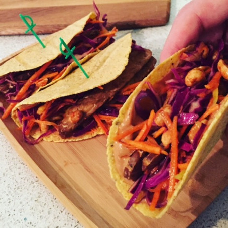 Peanut Butter Tacos