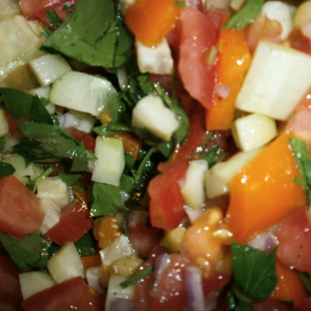 Unspecified Nation of Origin Middle Eastern Salad