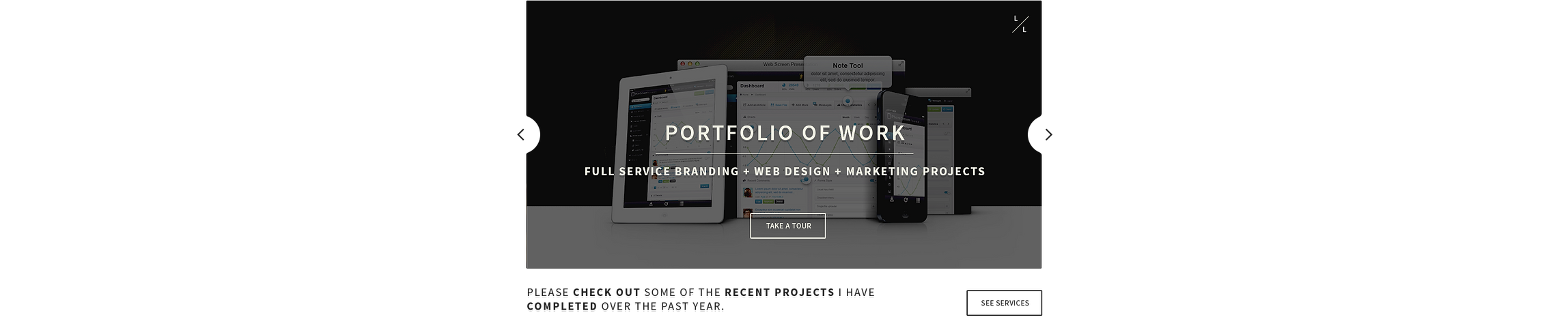 Full Service Branding + Web Design + Marketing Projects