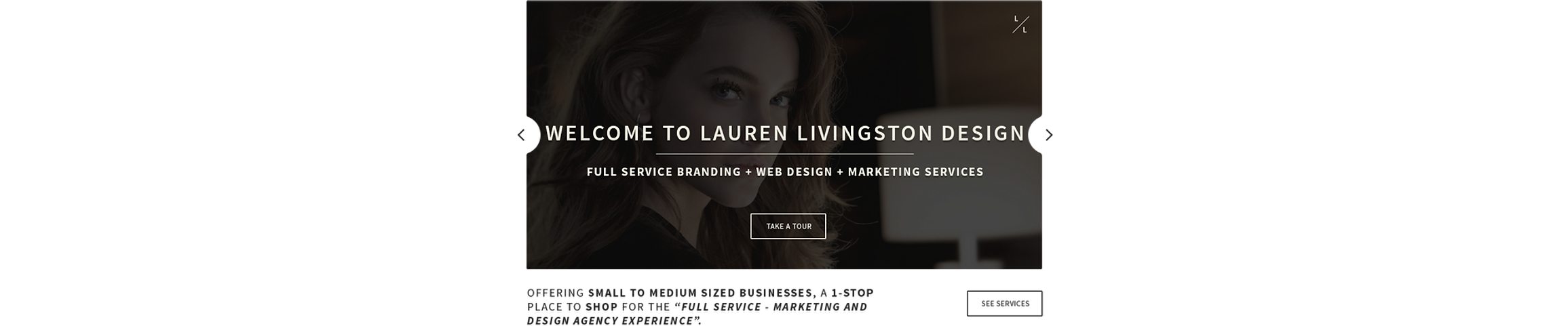 """Offering Small to Medium Sized Businesses, a 1-Stop Place to Shop for the """"full service marketing and design agency experience"""""""