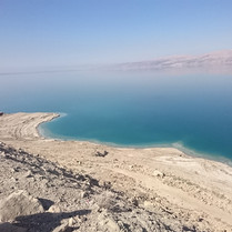 dead sea coast line