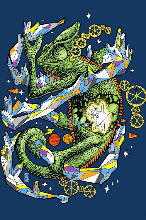 Chameleon Print
