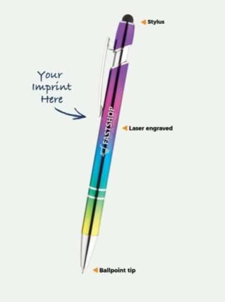 Arden Stylus Iridescent Pen