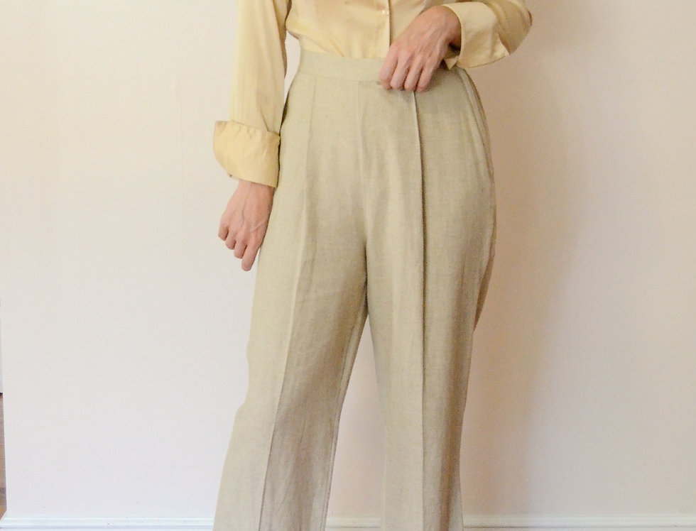 Hazy June Linen Trousers