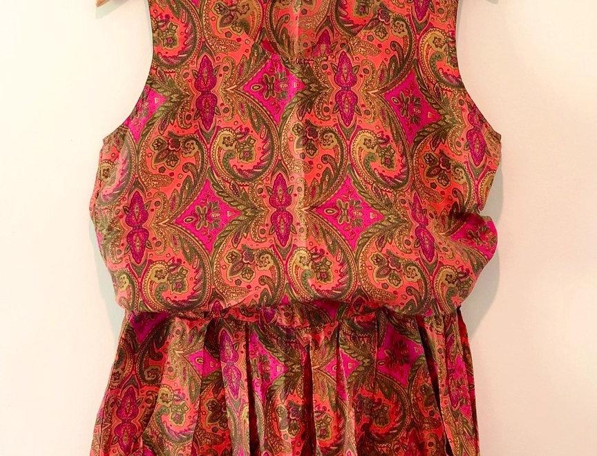 Flamingo Silk Set
