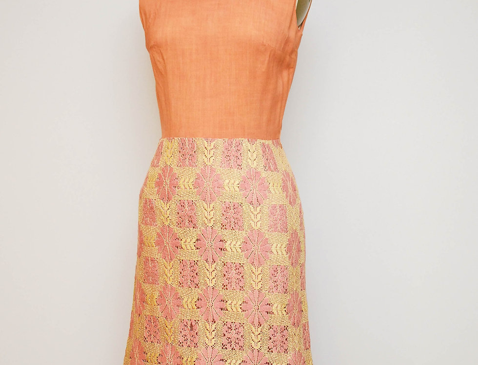 60s Tequila Sunrise Dress
