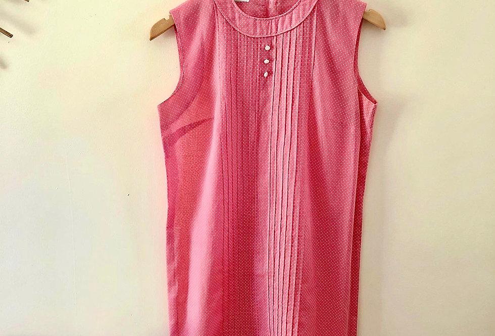 60s Swiss Dot Mini Dress
