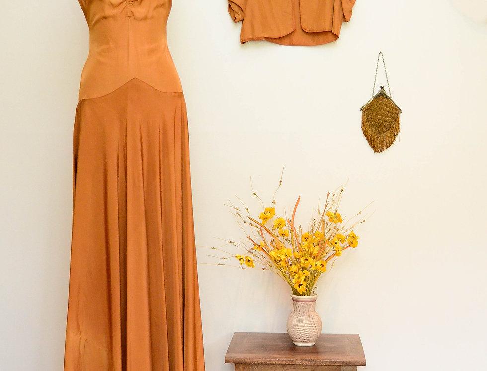 30s Golden Hour Gown
