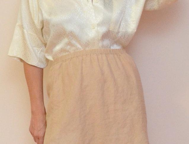 Sonata Linen Skirt
