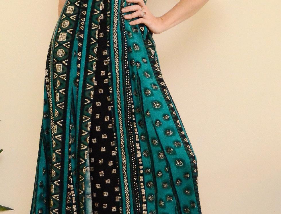 Still Turquoise Dress
