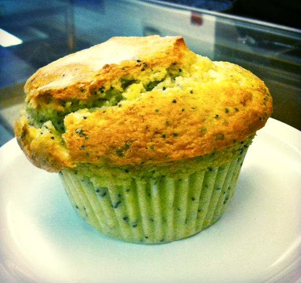 Lemon Poppy Seed Muffin!