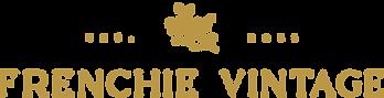 Frenchie Vintage_logo horizontal GOLD.pn