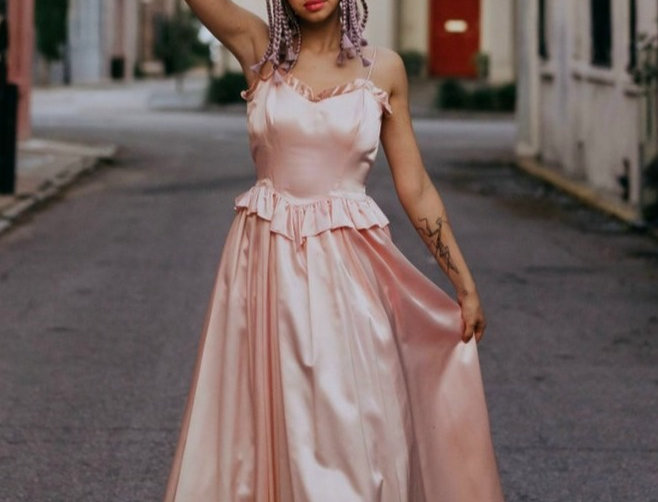 Rose Time of Day Dress