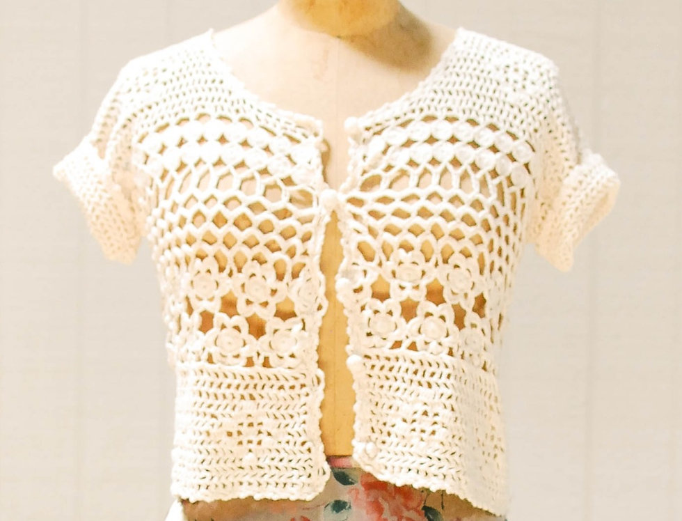 Calico Knit Top