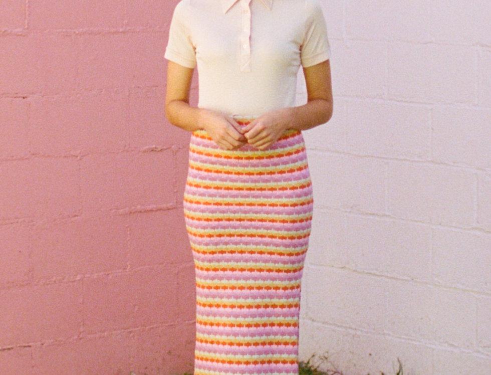 Rainbow Row Maxi Skirt