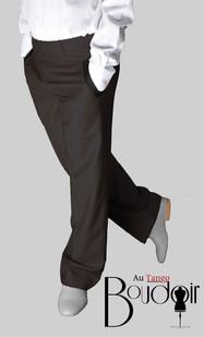 Pantalon droit taille basse