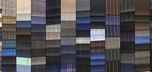Mix of wool for suits and trousers