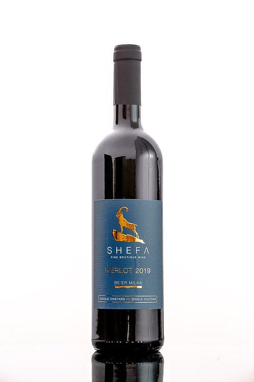 Shefa Merlot 2018 - Single Vineyard