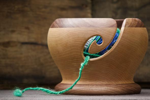 Maple Yarn Bowl