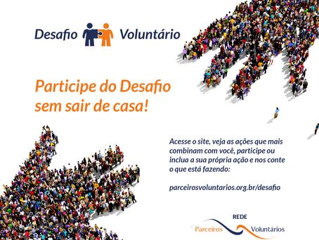 DESAFIO VOLUNTÁRIO 2020