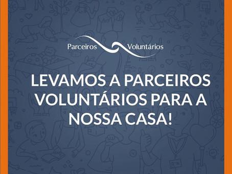PARCEIROS VOLUNTÁRIOS FARÁ ATENDIMENTO ONLINE A PARTIR DE AMANHÃ, 19/3.