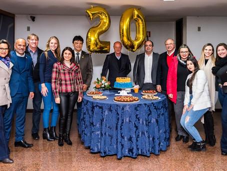 Parceiros Voluntários comemora seus 20 anos de trajetória em Caxias do Sul