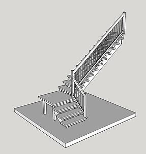 Vilplan trappor