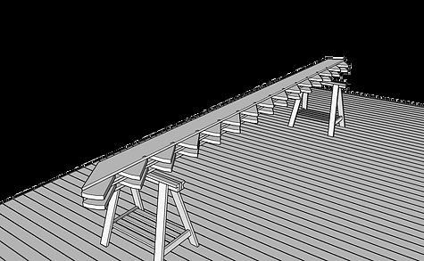 bygga vangstycke altan balkong