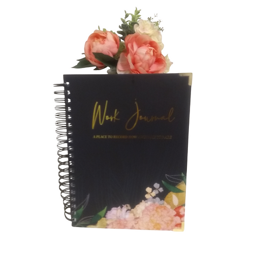Work Journal: A Place to Record How Awesome You Are + Webinar Series (1-Year)
