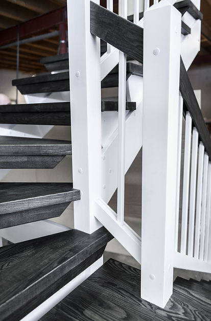 Svängda trappor