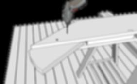 Utomhustrappa vangtsycke ritning