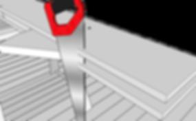 Såg vangstycke trappa