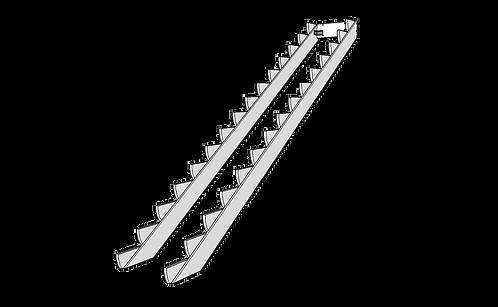 Vangar för att bygga trappa själv